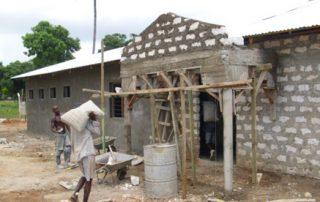 Rohbau Gebäude für Klassen 1 bis 4