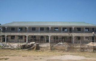 Rohbau Gebäude Klassen 5 bis 8