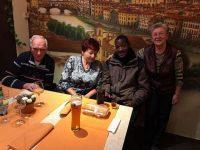Frau Gleitsmann und Fam Komnick