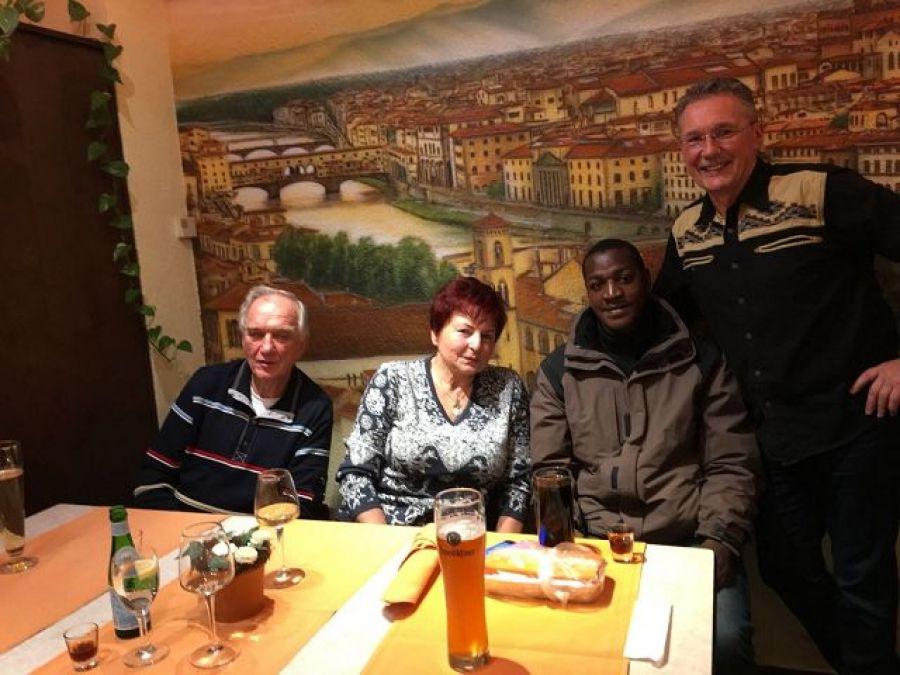 Herr Gleitsmann und Fam Komnick