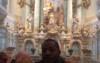 James und Herr Kielmann in Dresden
