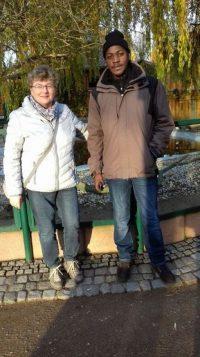 Besuch des Inselzoo mit Frau Eller