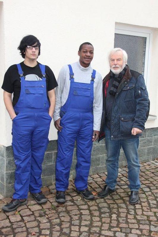 in der Metallwerkstatt Crimmitschau mit Herr Kielmann