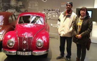 Im Horch Museum Zwickau mit Frau Breitenborn