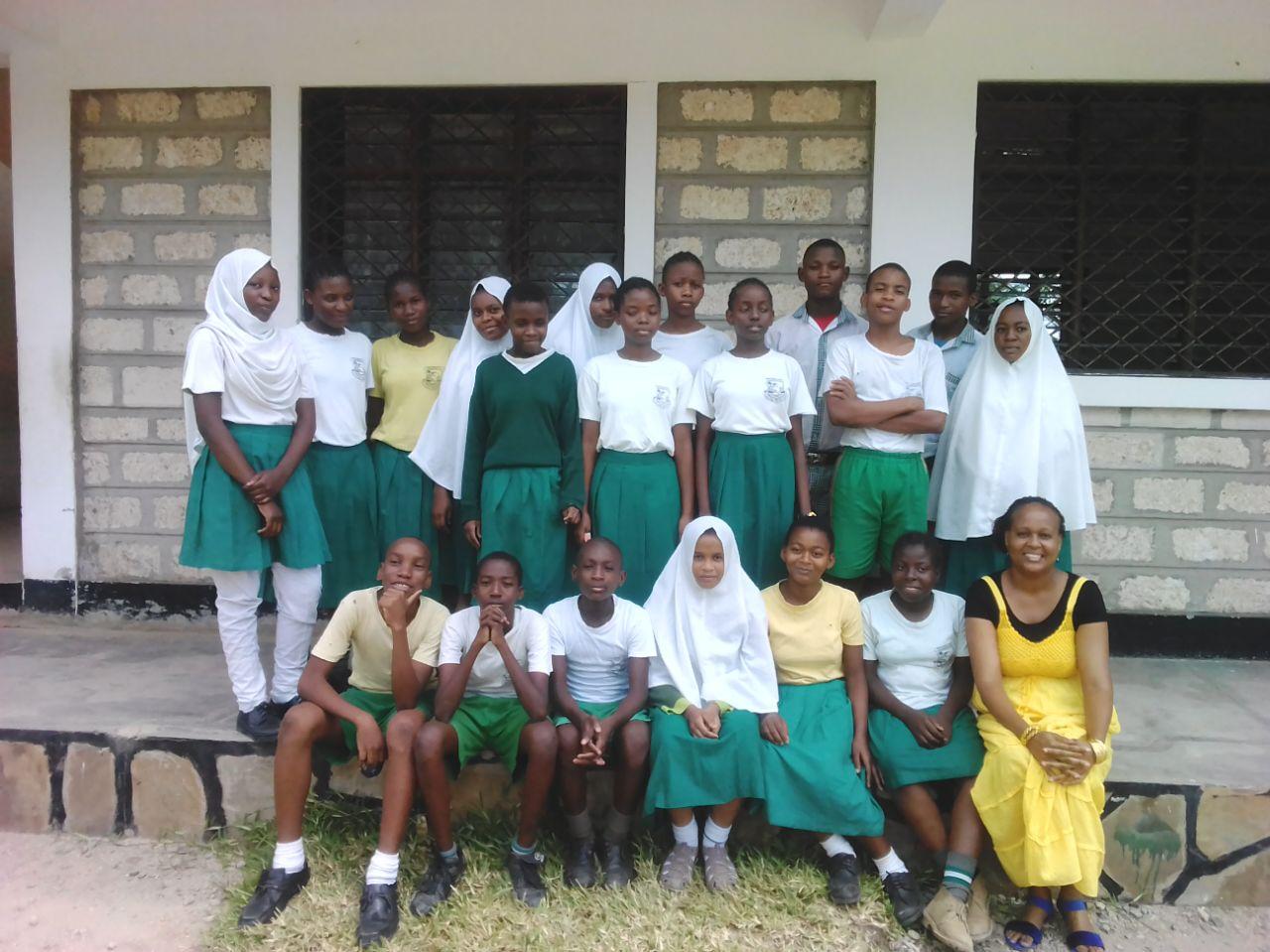 8. Klasse der Elimu Ya Kenya School