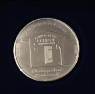 Ehrennadel Sondermedallie-Rückseite
