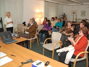 Mitgliederversammlung im Vereinsgebäude